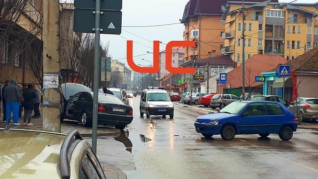 Saobraćajka u Čede Vasovića u Požarevcu: Slupalo se tri automobila! 1