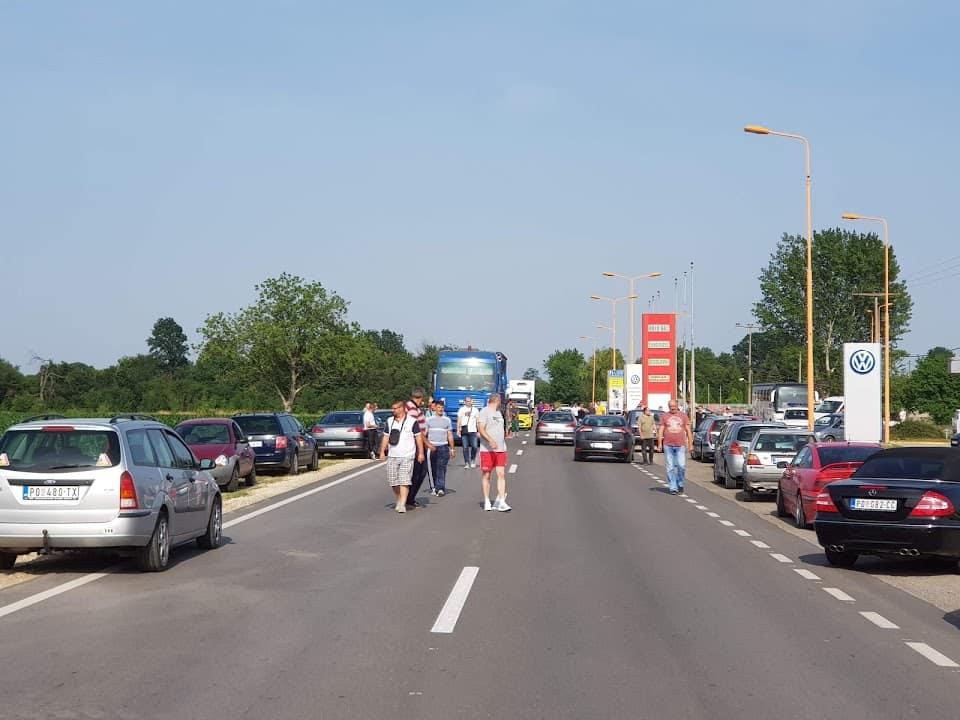 Održan protest i u Požarevcu zbog cene goriva /FOTO/ 3