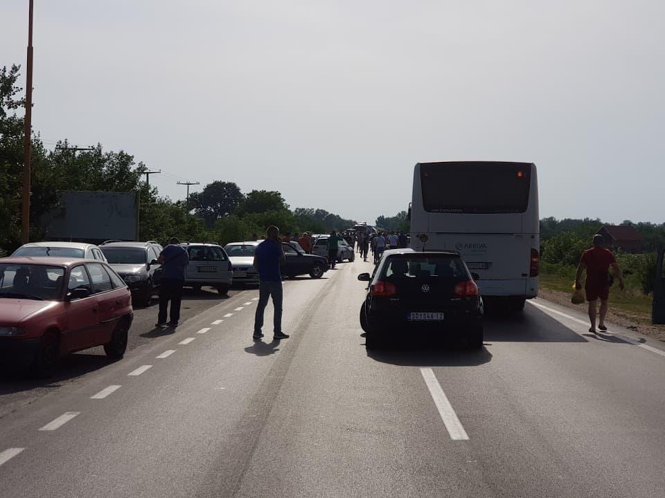 Održan protest i u Požarevcu zbog cene goriva /FOTO/ 4